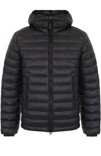 Пуховая стеганая куртка на молнии с капюшоном C.P. Company