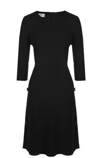 Приталенное платье-миди с укороченным рукавом Weill