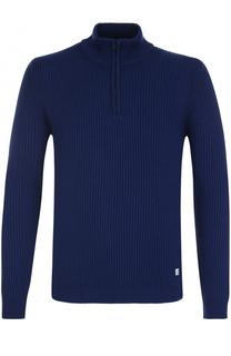 Шерстяной свитер с воротником на молнии C.P. Company