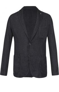 Хлопковый пиджак на двух пуговицах Bogner
