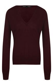 Шерстяной пуловер с V-образным вырезом Proenza Schouler