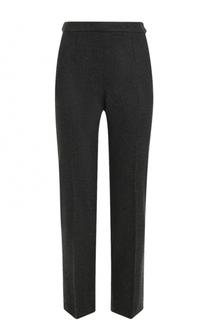 Укороченные кашемировые брюки со стрелками Loro Piana