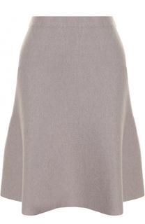 Однотонная вязаная мини-юбка D.Exterior