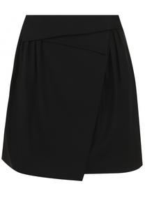 Мини-юбка с защипами и карманами Nina Ricci