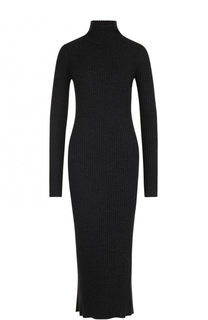 Шерстяное платье-футляр фактурной вязки Iro