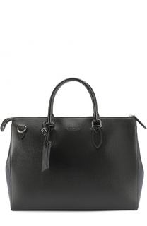 Кожаная сумка для ноутбука с плечевым ремнем Burberry