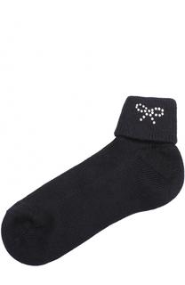Хлопковые носки со стразами Catya