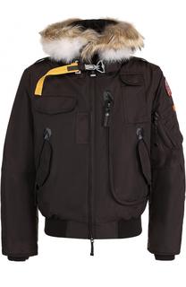 Укороченная куртка Gobi с меховой отделкой капюшона Parajumpers