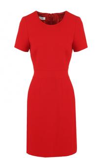 Приталенное мини-платье с круглым вырезом Weill
