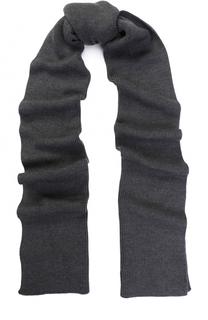 Шерстяной вязаный шарф Moncler