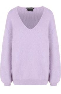 Пуловер свободного кроя с V-образным вырезом Tom Ford
