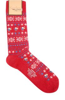 Носки с контрастным принтом Sorley Socks