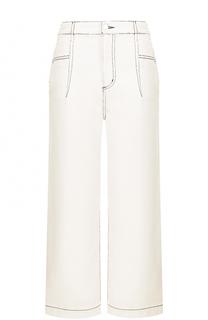 Укороченные широкие джинсы со шнуровкой 3.1 Phillip Lim
