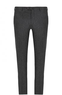 Шерстяные брюки прямого кроя Loro Piana