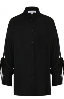 Блуза свободного кроя с бантами на рукавах Iro