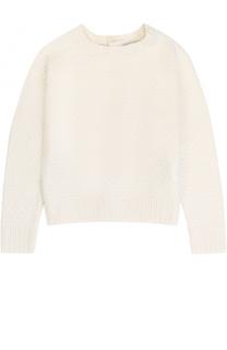Пуловер фактурной вязки с бантами на спинке Polo Ralph Lauren