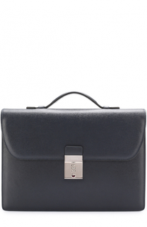 Классический кожаный портфель Canali