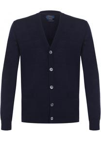Шерстяной кардиган на пуговицах Polo Ralph Lauren