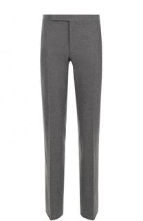 Шерстяные брюки прямого кроя Ralph Lauren