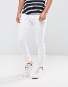 Белые зауженные джинсы New Look - Белый
