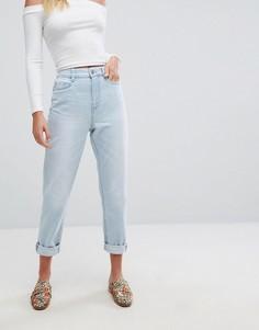 Джинсы в винтажном стиле с отворотами New Look - Синий