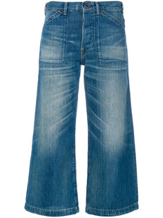 широкие укороченные джинсы Polo Ralph Lauren