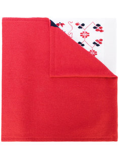 intarsia cashmere scarf  Barrie