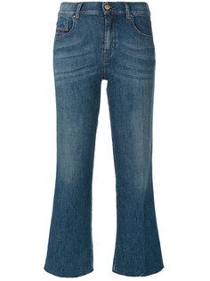 укороченные джинсы клеш Diesel