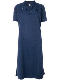 платье-рубашка на пуговицах Courrèges Vintage