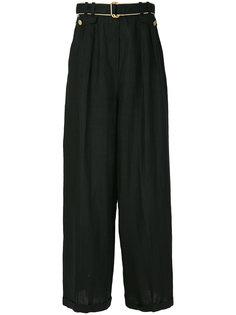 широкие брюки Chanel Vintage