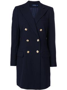 двубортное пальто Polo Ralph Lauren
