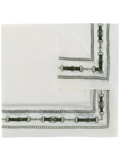 платок с принтом Céline Vintage