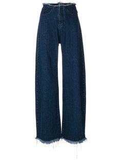широкие джинсы с необработанным краем Marquesalmeida