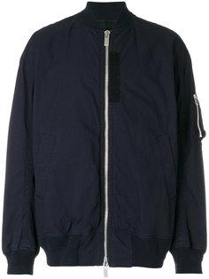 классическая куртка-бомбер  Sacai