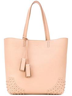 сумка-шоппер с тиснеными деталями Tods Tod`S