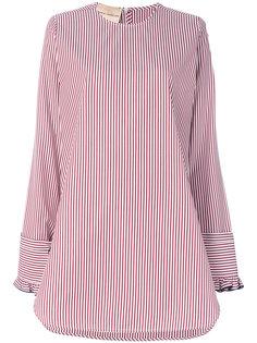 удлиненная полосатая блузка Erika Cavallini