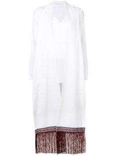 Popeline fringed shirt Miahatami