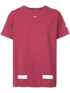 футболка с принтом стрелок Off-White
