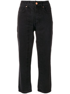 fixed pleat cropped jeans Aalto