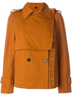 короткое пальто-тренч  Proenza Schouler