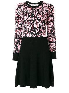 платье с цветочным принтом  Kenzo