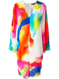 платье с эффектом тай-дай Ralph Lauren Collection