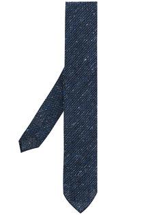 галстук с вышивкой Lardini