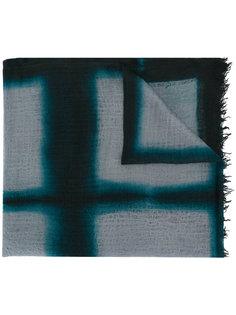 шарф в клетку Suzusan