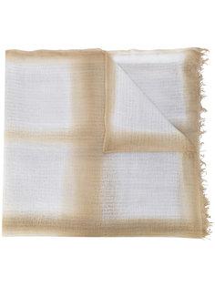 striped scarf Suzusan