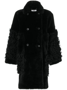 double breasted fur coat Desa Collection