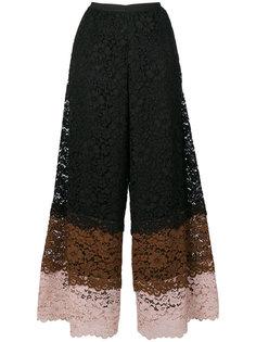 кружевные укороченные брюки Antonio Marras