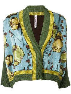 приталенный пиджак с принтом  Antonio Marras