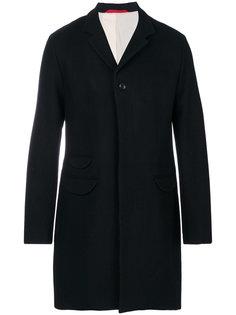 однобортное пальто Homecore