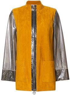 куртка с контрастной отделкой  Tory Burch
